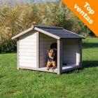 Caseta Trixie Natura Lodge con terraza para perros
