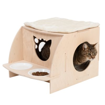 Casita Natural Paradise Puzzle para gatos