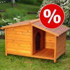 Casota de madeira Spike Special para cães