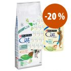 CAT CHOW 15 kg + 26 x 85 g sobres con pollo ¡a precio especial!