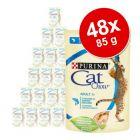Cat Chow 48/52 x 85 g comida húmeda para gatos - Pack Ahorro
