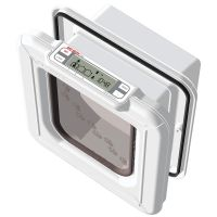 Cat Mate Elite Microchip Cat Flap with Timer Control
