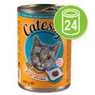 Catessy Chunks in Sauce or Jelly Saver Pack 24 x 400g