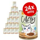Catessy Chunks in Gravy or Jelly Saver Pack 24 x 400g