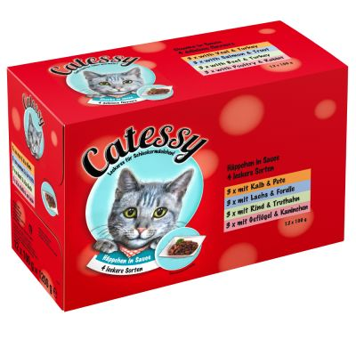 Catessy Chunks in Sauce Mixed Pack 4 Varieties