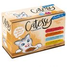 Catessy Chunks in Vegetable or Egg Jelly - Mixed Pack