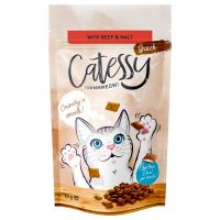 Catessy Crunchy Snacks Anti-Hairball with Beef & Malt