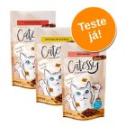 Catessy Crunchy Snacks Pack de Experimentação Mix 3 x 65g
