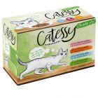 Catessy kastikkeella, monta makua