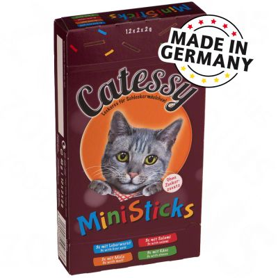 Catessy Mini-Sticks snacks para gatos