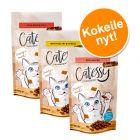 Catessy Snacks -kokeilupakkaus 3 x 65 g, monta makua