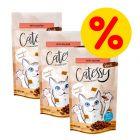 Catessy Snacks -säästöpakkaus 3 x 65 g