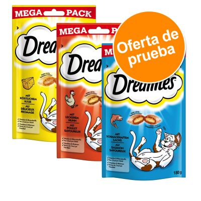 Catisfactions Big Pack snack para gatos 3 x 180 g - Pack de prueba mixto