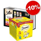 Catisfactions Variety Snack Box + Sheba Creamy Snacks : 10 % de remise !