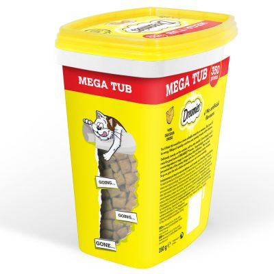 Catisfactions Megatub snacks para gatos