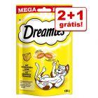 Catisfactions snacks em promoção: 2 + 1 grátis!