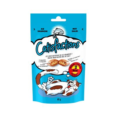Catisfactions snacks para gatos 60 g