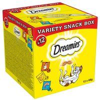 Catisfactions 12 x 60 g caja con snacks variados para gatos