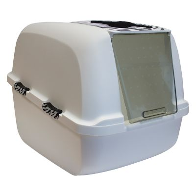 Catit Jumbo Litter Box – White Tiger