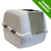 Catit Jumbo White Tiger Litter Box