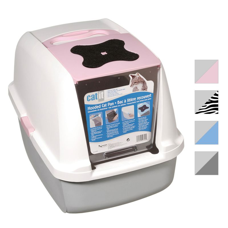 Catit Litter Box - White Tiger