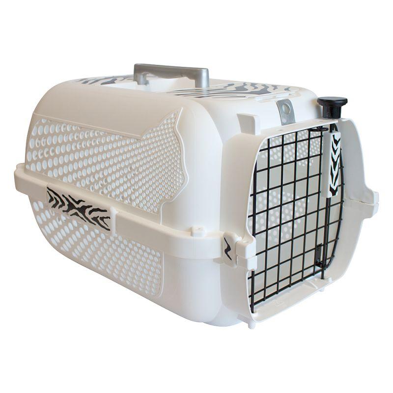 Catit White Tiger Voyageur transportbur - vit