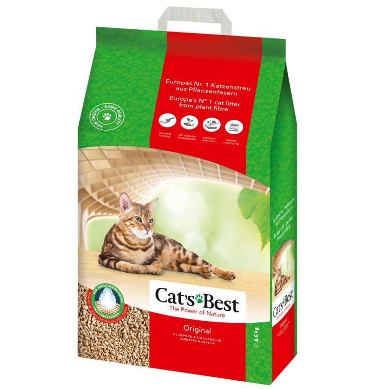 Cat's Best Original areia vegetal aglomerante