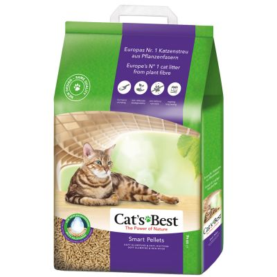 Cat's Best Smart Pellets arena aglomerante ecológica