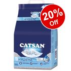Catsan Cat Litter - 20% Off!*