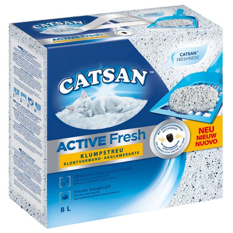 Catsan Active Fresh Clumping Litter