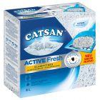 Catsan Active Fresh -kissanhiekka, paakkuuntuva