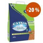 Catsan areia absorvente para gatos a preço especial!