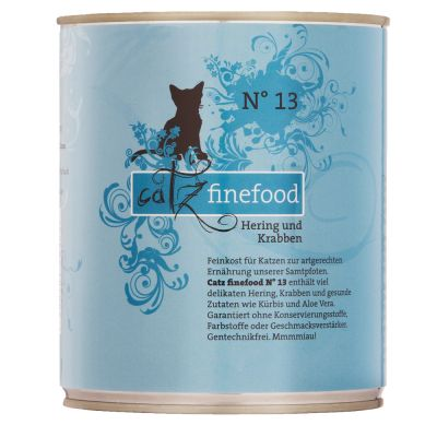 catz finefood Can Mixed Trial Pack 6 x 800g