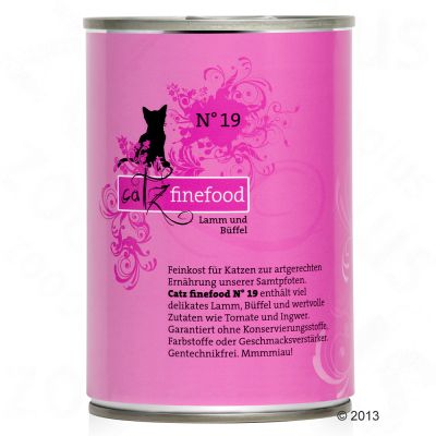 catz finefood Can Mixed Trial Pack 6 x 400g