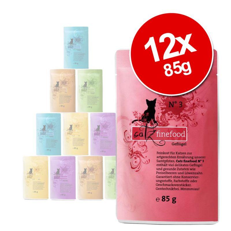 catz finefood Pouch Mixed Saver Pack 12 x 85g