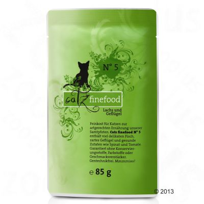 catz finefood Pouch Mixed Saver Pack 12 x 85g