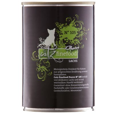Catz Finefood Purrrr Mixed Trial Pack 6 x 400 / 375g