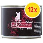 Catz Finefood Purrrr w puszkach, 12 x 200 g / 190 g