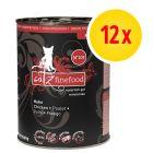 Catz Finefood Purrrr w puszkach, 12 x 400 g / 375 g