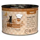 catz finefood Ragoût 6 x 180 g / 190 g pour chat