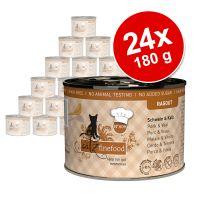 catz finefood Ragoût 24 x 180 / 190 g pour chat