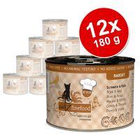 catz finefood Ragoût 12 x 180 /190 g pour chat