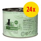 catz finefood -säästöpakkaus: 24 x 200 g