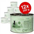 catz finefood Voordeelpakket Kattenvoer 12 x 200 g