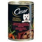 Cesar Natural Goodness 6 x 400 g Alimento umido per cani