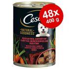 Cesar Natural Goodness 48 x 400 g Alimento umido per cani
