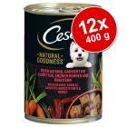 Cesar Natural Goodness 12 x 400 g Alimento umido per cani