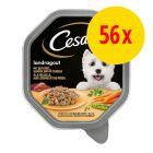 Cesar Recettes campagnardes Mini filets en sauce 56 x 150 g