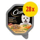 Cesar Recettes campagnardes Mini filets en sauce 28 x 150 g