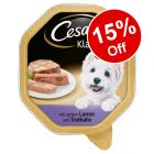 Cesar Wet Dog Food - 15% Off!*
